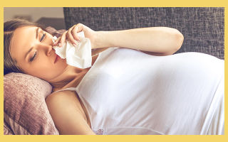 Насморк (Ринит) у беременных —  Виды, Симптомы и Лечение заболевания.