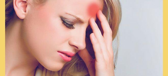 Лечение головной боли при гайморите