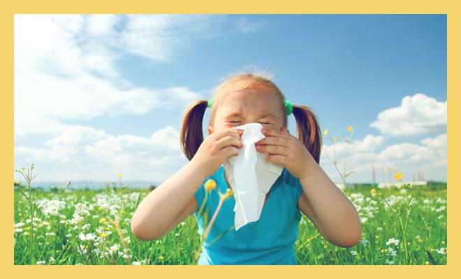 аллергия у девочки на цветы