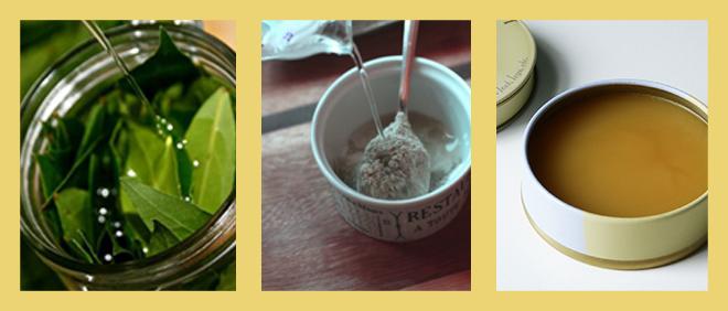 Меди, глина и лавровый лист