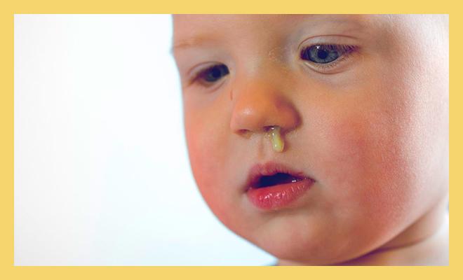гной из носа у ребенка